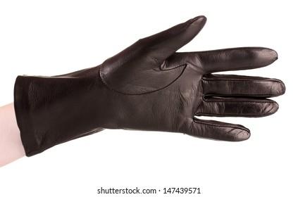 2606d71c7 Black Leather Gloves Images, Stock Photos & Vectors | Shutterstock