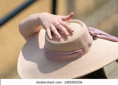 Holding Hat Images, Stock Photos & Vectors | Shutterstock
