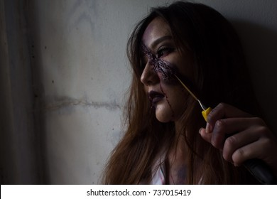women horror