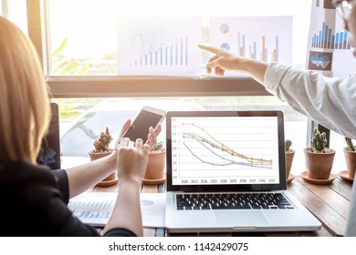 Women and men working in finance, education, income and income.
