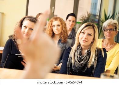 Women Only Seminar