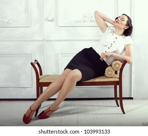 women. pinup style