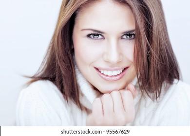 Women portrait. toned