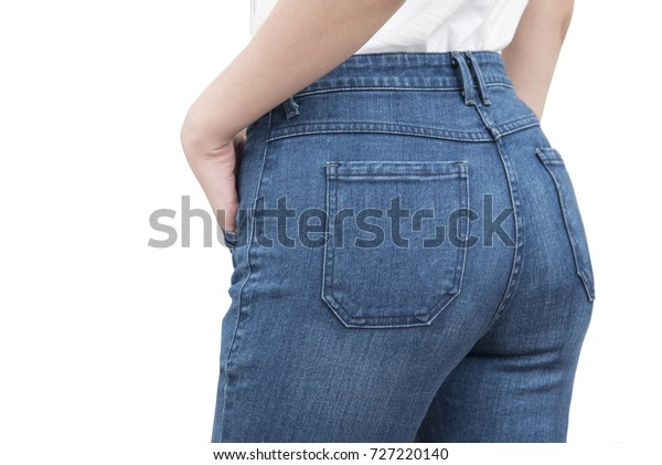 women ass in jeans