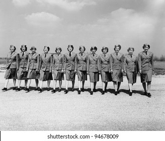 Women serving their country