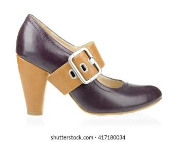 Women shoe isolated on white