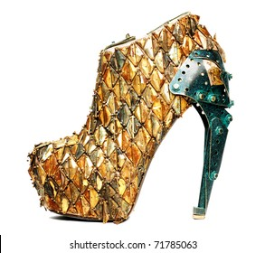 women shoe,very alternative and modern isolated