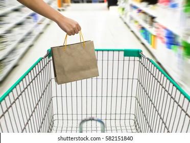 Women shopping in Department store