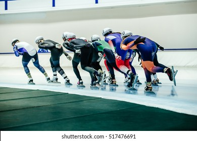 women speed skaters mass start competitions in speed skating