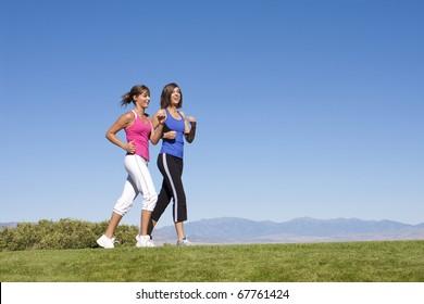 Women Walking, Jogging & Exercise