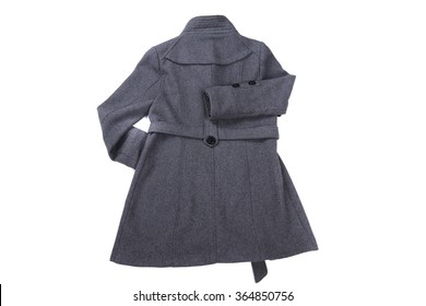 Women wear in winter coat