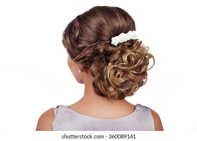 Wedding Hairstyle Images, Stock Photos & Vectors | Shutterstock