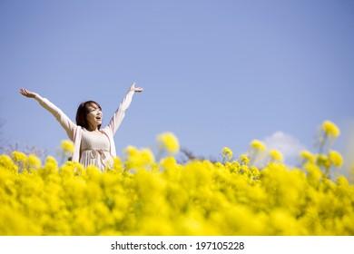 Women Who Enjoy Being Around The Flower Garden