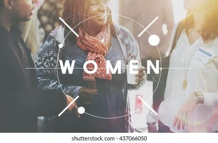 Women Woman Female Feminism Lady Madam Concept