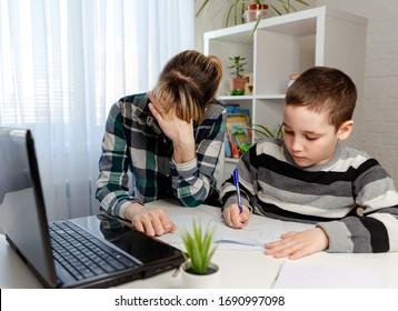 Children Disturb Parents Images, Stock Photos & Vectors | Shutterstock