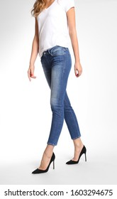 WOMENS BLACK MAGIC DENIM A HIGH SKINNY ANKLE BASHER JEANS with white background..WOMENS BLACK MAGIC DENIM A HIGH SKINNY ANKLE BASHER JEANS with white background