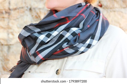 women's black shawl stole with ornaments