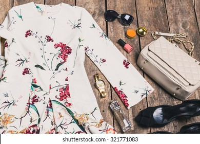 Women's clothes and accessories