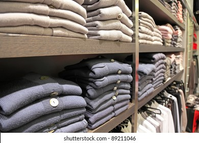 womens clothes on a rack