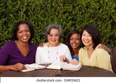 Women's community study group.