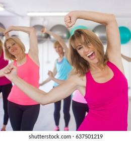 womens dance class