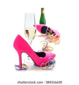 fdbf4362746 Imágenes, fotos de stock y vectores sobre High Heel Shoes Invitation ...