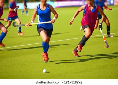 Women's field hockey , workout
