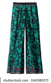 women's graphic pattern casual dress pants