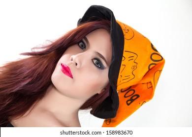 Women's Halloween hat  in concept halloween