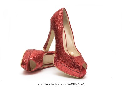 unique design huge selection of the best Red Sparkly Shoes Stock Photos, Images & Photography ...