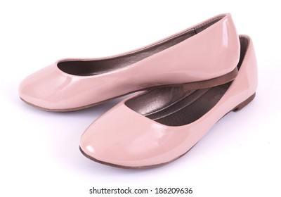 Women's low summer shoes ballerina.