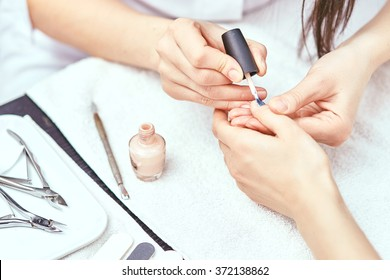 Women's manicure, Nail Polish, Hand Care