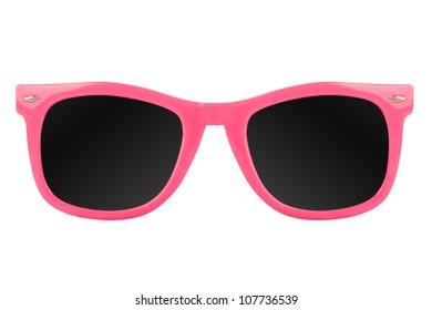 Women's pink sunglasses