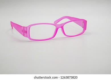 Women's pink sunglasses.
