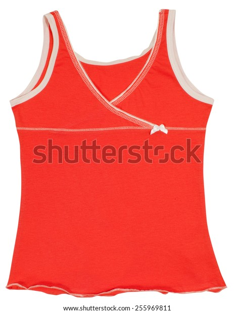 Women's shirt isolated on a white background