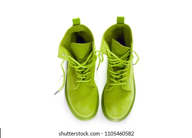 Women's shoes. Style and fashion. Boots of desserts.