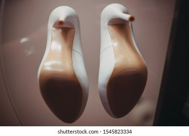 Women's shoes for wedding, bottom view