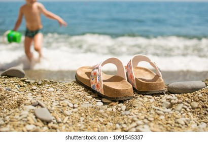593794503b851a Family Feet Relaxing Sunbathing On Beach Stock Photo (Edit Now ...