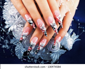 """Women's Studio Nails. Included in my set """"nail design and manicures."""""""