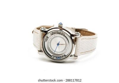 women's watch isolated on white background