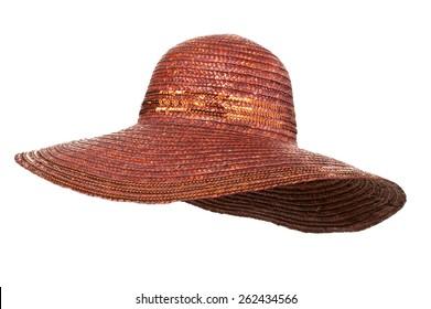 Women's Wide Brim Straw Hat
