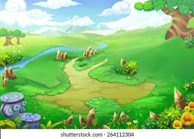 Wonder Land without Cabin - Scene Design