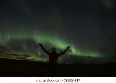 Wonder of the Northern Lights in Iceland