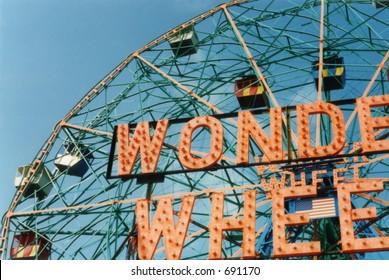 Wonder Wheel, Coney Island, New York