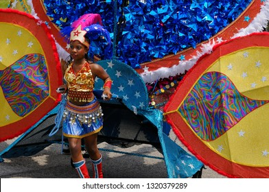 Wonder Woman Queen of the Band at the Junior Caribana Parade in Toronto, Ontario, Canada - July 19, 2008