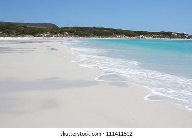 Wonderful beach in south africa