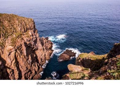 Wonderful and beautiful island Dokdo is the east end territory of Republic of Korea.