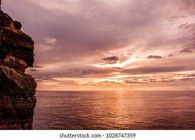 Wonderful and beautiful sunrise island,Dokdo. Dokdo is the east end territory of Republic of Korea.
