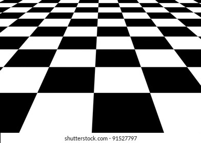 Wonderful black and white chess background