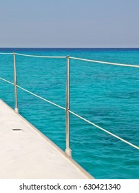 Wonderful Caribbean Sea at Cuba